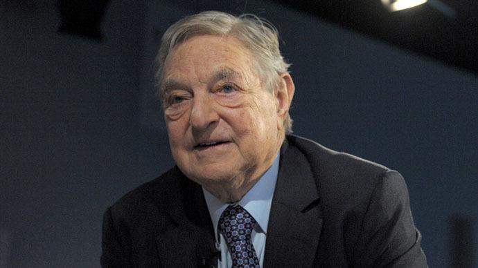 Soros Fund Management Chairman George Soros (AFP Photo/Eric Piermont)