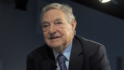 Soros Fund Management Chairman George Soros (AFP Photo/Eric Piermont)