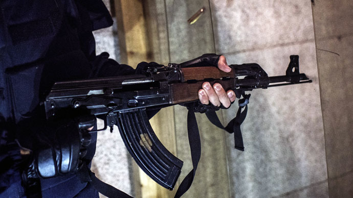 ​'Disgusting': David Haines beheading picture used in Kalashnikov ad