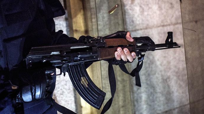 'Disgusting': David Haines beheading picture used in Kalashnikov ad