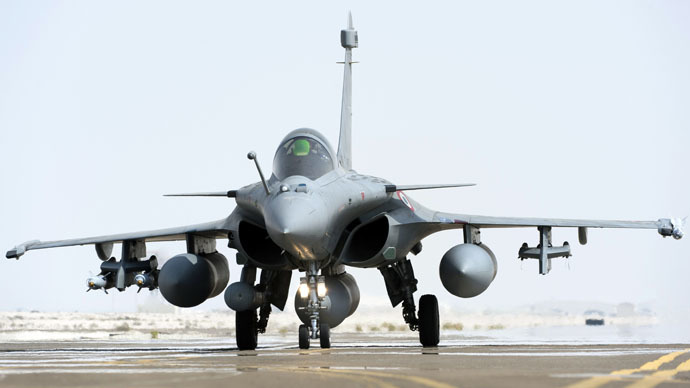 Rafale fighter jet (AFP Photo/ECPAD)