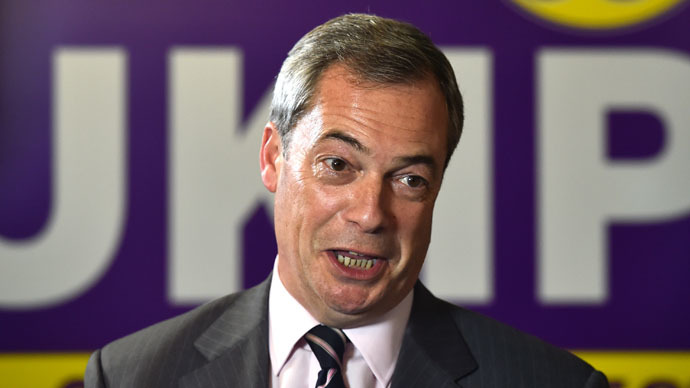Farage blames Paris attacks on immigrants, UK foreign policy