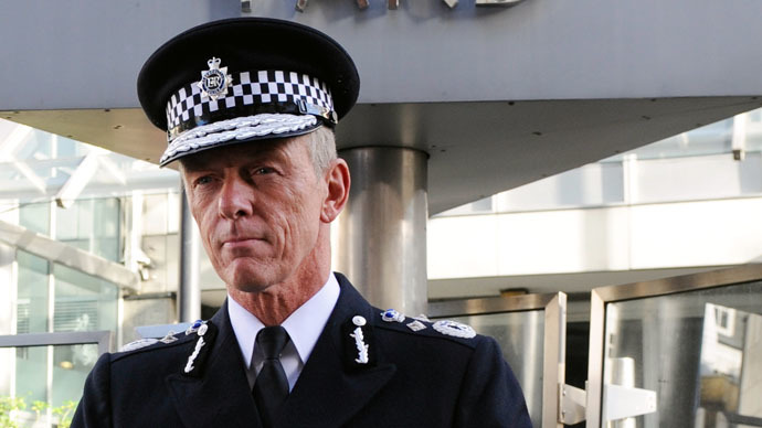 Sir Bernard Hogan-Howe, Commissioner of the Metropolitan Police of London (AFP Photo)
