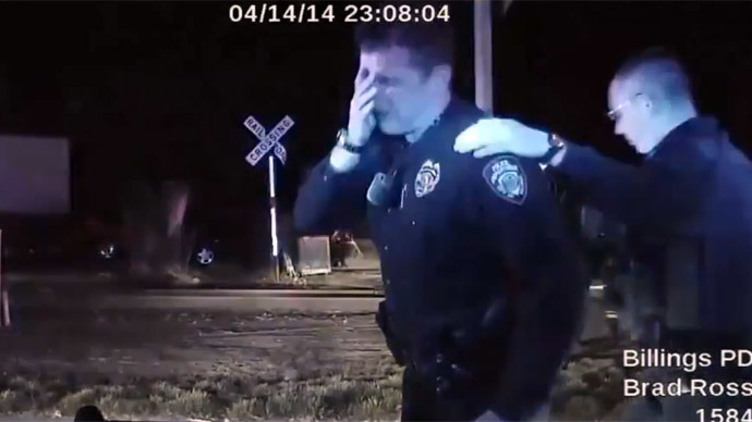 Montana Cop Sobbed After Killing Unarmed Man Cleared Of
