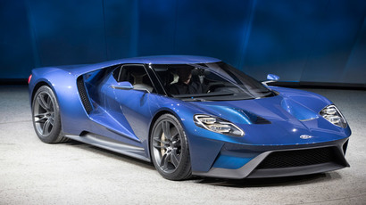 Ford GT.(AFP Photo / Geoff Robins)