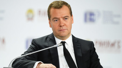 Russia's oil and gas economy 'exhausted' - Medvedev