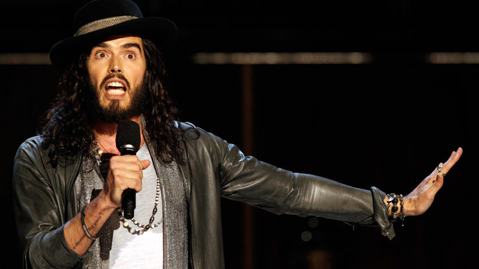 Russell Brand compares 'insidious' Fox News to Charlie Hebdo terrorists