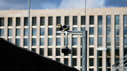 Surveillance cameras overlook the building site of the new headquarters of the Bundesnachrichtendienst (BND), Germany's Federal Intelligence Service in Berlin (Reuters / Tobias Schwarz)