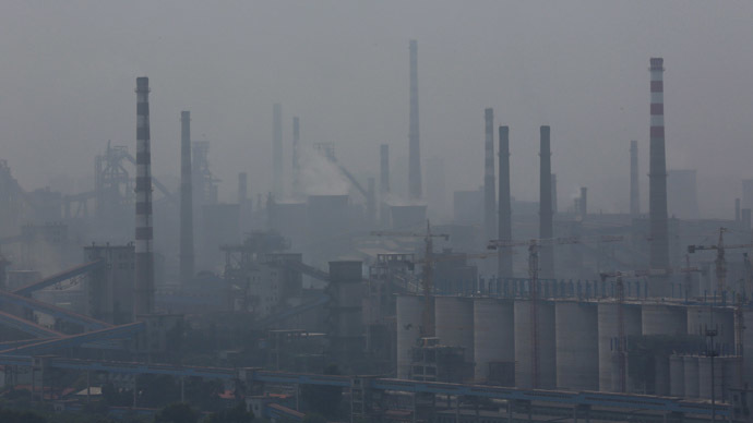 'Smoggy bacon': Chinese official blames New Year's meat cooking for industrial-strength smog