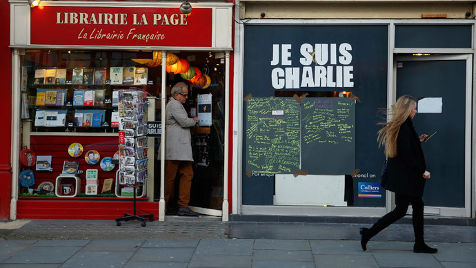 Charlie Hebdo sells out hours after hitting UK shelves