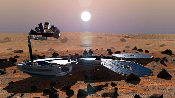 Beagle 2.(AFP Photo / ESA )