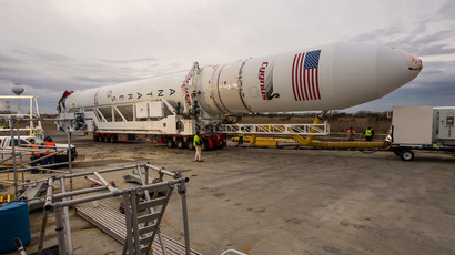 An Orbital Sciences Corporation Antares rocket at NASA's Wallops Flight Facility, January 5, 2014.(Reuters / Bill Ingalls)
