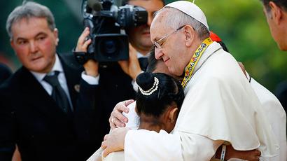 Good Catholics don't need to breed 'like rabbits' – Pope Francis