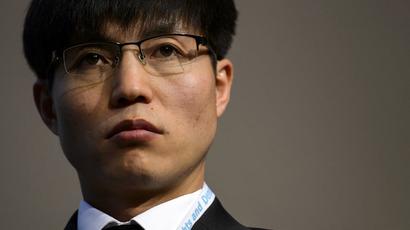 Escaped prisoner from North Korean Internment Camp 14, Shin Dong-Hyuk (AFP Photo/Fabrice Coffrini)