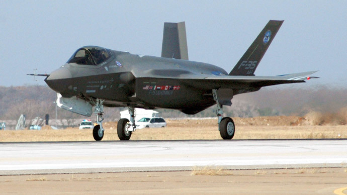 F-35 Joint Strike Fighter Lightning II (AFP Photo / HO / US NAVY/ MCS2D. Keith Simmons)