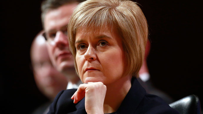 Nicola Sturgeon (Reuters / Cathal McNaughton)