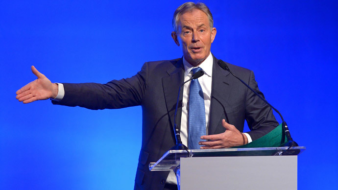 'Tell us who pays you': Tony Blair pressured over alleged paymasters