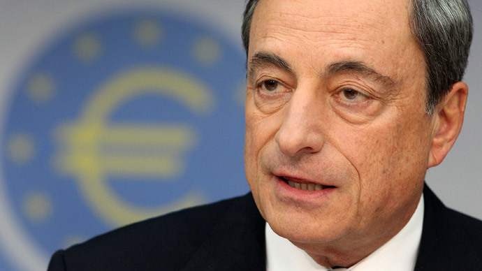 Mario Draghi, President of the European Central Bank, ECB (AFP Photo / Daniel Roland)