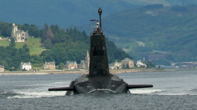 Trident nuclear submarine (image from wikipedia.org by Canoe1967)