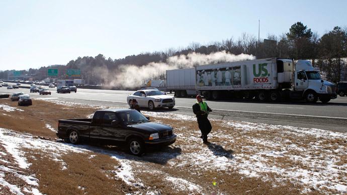 Interstate 75 North in Marietta, Georgia (Reuters / Tami Chappell)