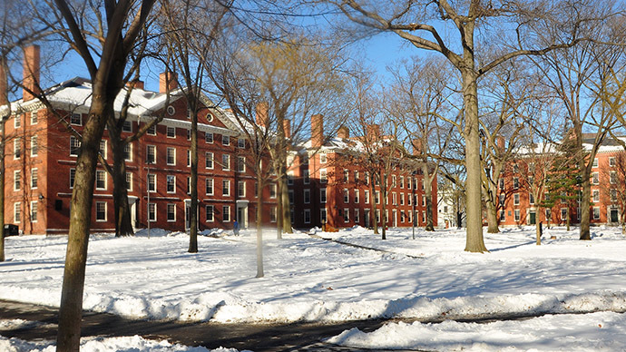 Harvard Yard (Image from Wikipedia)