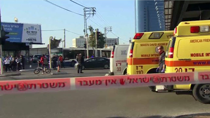 At least 9 stabbed on Tel Aviv bus, Palestinian attacker wounded