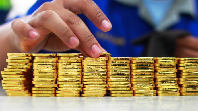 Gold above $1,300 for first time in 5 months