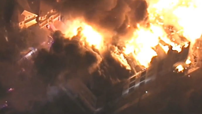 State of emergency, schools, roads closed in Edgewater, NJ after apartment inferno