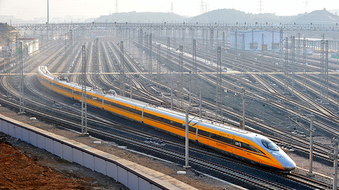 Moscow to Beijing in 2 days: China to build $242bn high-speed railway