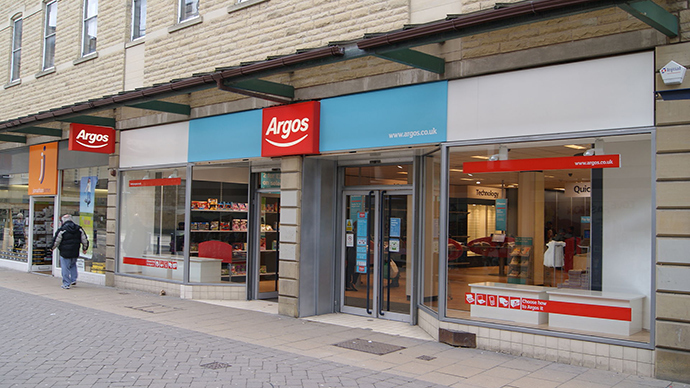 UK store Argos criticized for racism: 'Nasty' economic system slammed