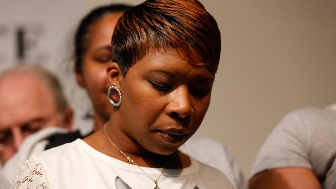 Lesley McSpadden, mother of Michael Brown.(Reuters / Shannon Stapleton )