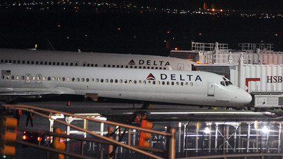 Delta Airlines airplanes are pictured at John F. Kennedy International Airport in the Brooklyn borough of New York.(Reuters / Stephanie Keith )