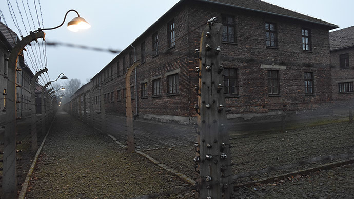 A general view of the former German Nazi concentration and extermination camp Auschwitz in Oswiecim January 19, 2015. (Reuters/Pawel Ulatowski)
