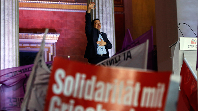 '5yrs of humiliation, suffering over': Anti-austerity party to form govt in Greece