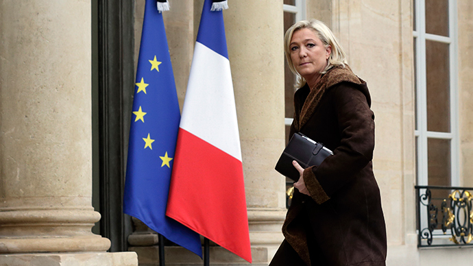 France's far-right National Front political party leader Marine Le Pen (Reuters / Philippe Wojazer)