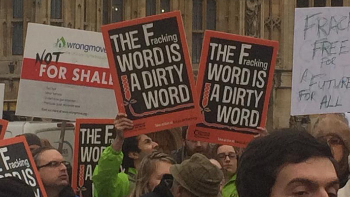 Fracking moratorium rejected as protesters descend on Parliament