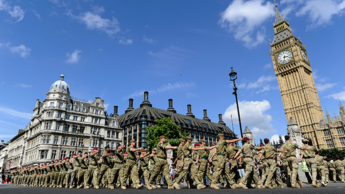 Total madness? Green Party to cut British Army, replace with 'home defense force'