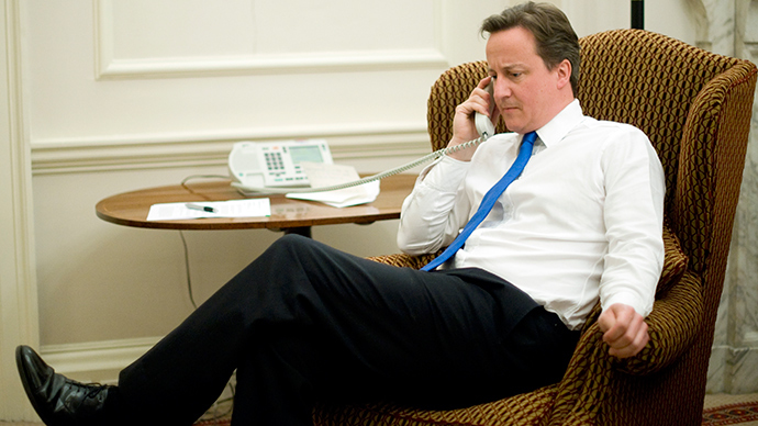 ​Cameron and GCHQ boss hoaxed by drunk prank caller