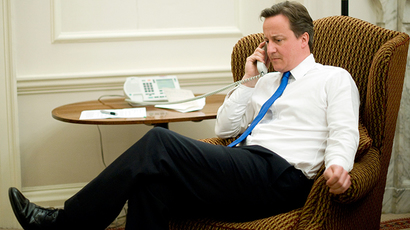 Britain's Prime Minister David Cameron (Reuters / Andrew Parsons)