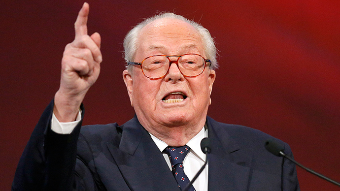 Former French National Front leader Jean-Marie Le Pen injured in house fire