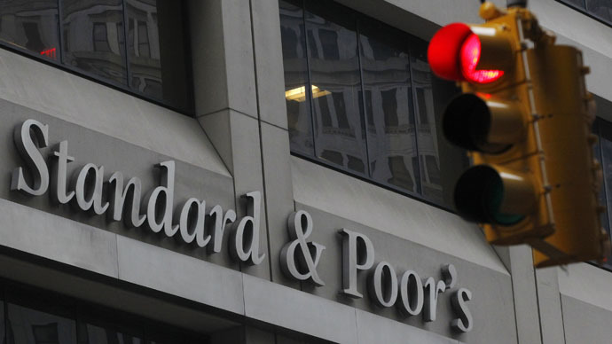 S&P downgrades Russia's credit rating to junk