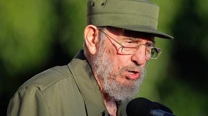 Former Cuban leader Fidel Castro (Reuters / Desmond Boylan)