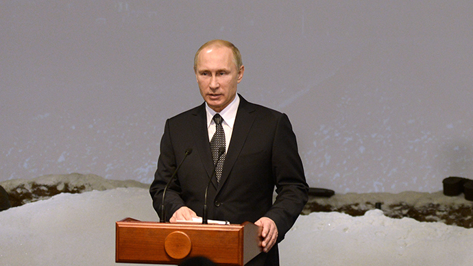 Putin: Those who rewrite history attempt to hide own disgrace