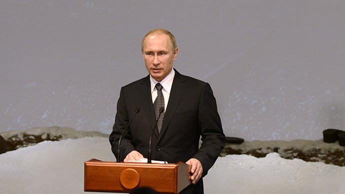 Russian President Vladimir Putin (RIA Novosti / Alexey Nikolsky)