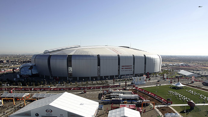 A general view shows the University of Phoenix Stadium in Glendale. (Reuters/Jeff Haynes)