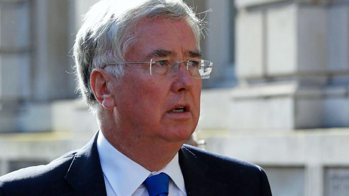 Britain's Defence Secretary Michael Fallon.(Reuters / Luke MacGregor)