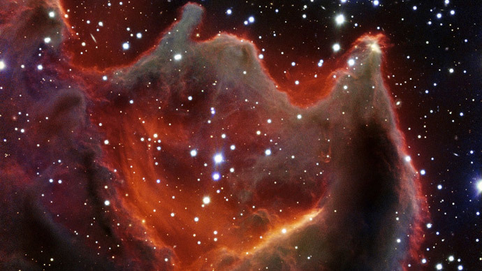 Mouth of the beast or God's hand? Amazing photo of 'cometary globule' CG4