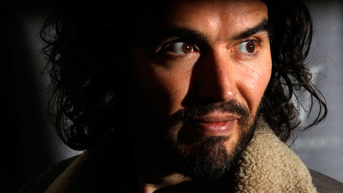 Russell Brand says scrap Trident nukes, challenged by shipyard MP