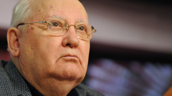 Gorbachev: US dragging Russia into new Cold War, which might grow into armed conflict