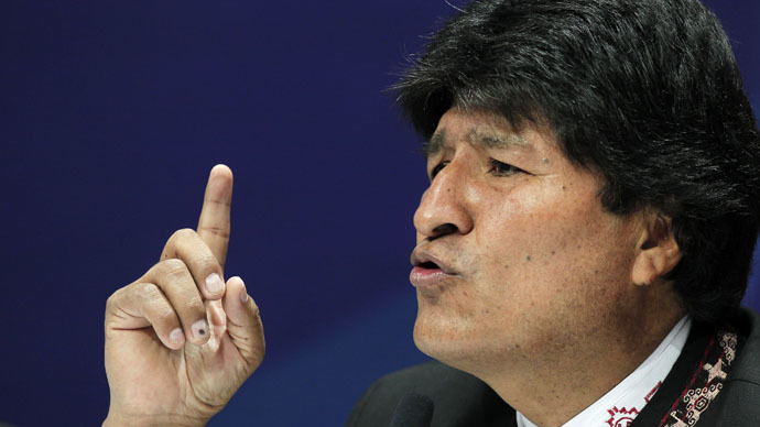 Evo Morales: RT is voice of developing countries, peoples of the world